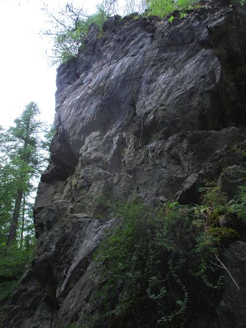 Foto: Andreas Koller / Klettersteigtour / Via ferrata du Torrent de la Combe (1575m) / 19.05.2021 02:28:23