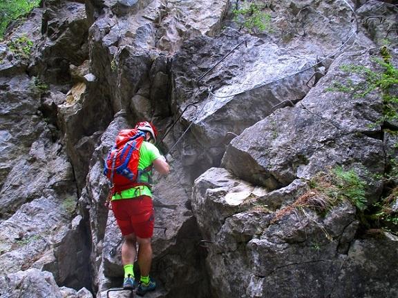 Foto: Andreas Koller / Klettersteigtour / Via ferrata du Torrent de la Combe (1575m) / 19.05.2021 02:27:31