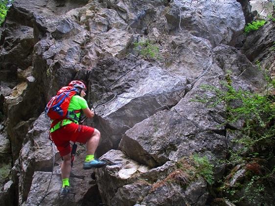 Foto: Andreas Koller / Klettersteigtour / Via ferrata du Torrent de la Combe (1575m) / 19.05.2021 02:27:22