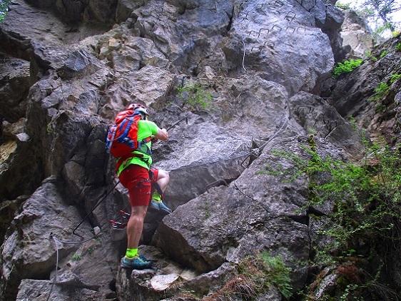 Foto: Andreas Koller / Klettersteigtour / Via ferrata du Torrent de la Combe (1575m) / 19.05.2021 02:27:14