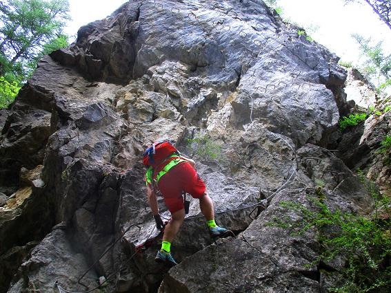 Foto: Andreas Koller / Klettersteigtour / Via ferrata du Torrent de la Combe (1575m) / 19.05.2021 02:27:05