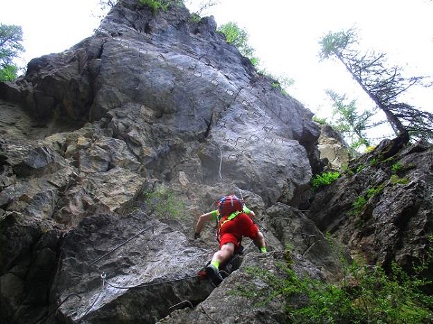 Foto: Andreas Koller / Klettersteigtour / Via ferrata du Torrent de la Combe (1575m) / 19.05.2021 02:26:59