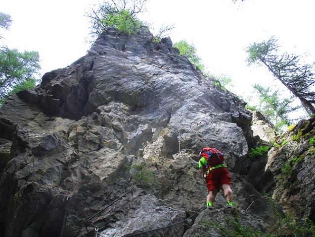 Foto: Andreas Koller / Klettersteigtour / Via ferrata du Torrent de la Combe (1575m) / 19.05.2021 02:26:52