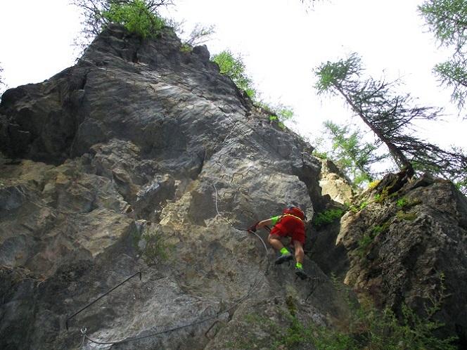 Foto: Andreas Koller / Klettersteigtour / Via ferrata du Torrent de la Combe (1575m) / 19.05.2021 02:26:45