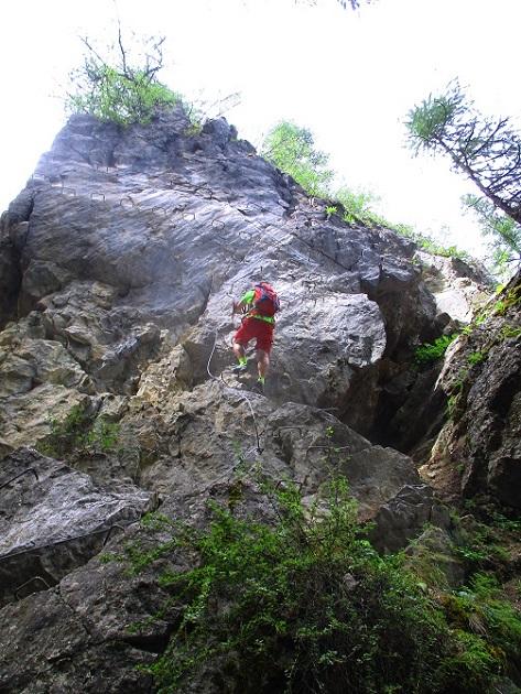 Foto: Andreas Koller / Klettersteigtour / Via ferrata du Torrent de la Combe (1575m) / 19.05.2021 02:26:31