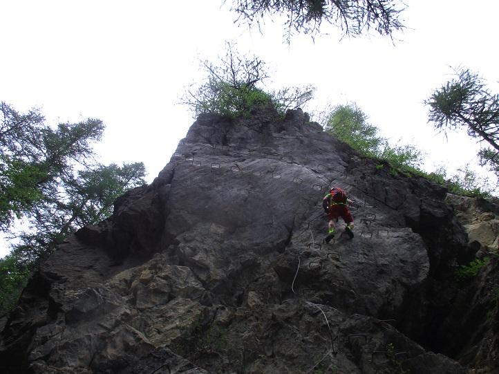 Foto: Andreas Koller / Klettersteigtour / Via ferrata du Torrent de la Combe (1575m) / 19.05.2021 02:26:18