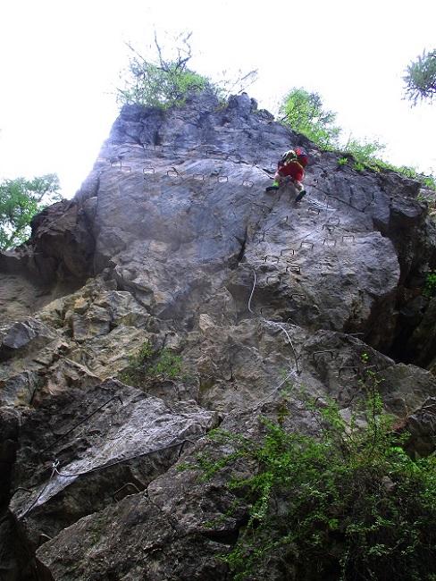Foto: Andreas Koller / Klettersteigtour / Via ferrata du Torrent de la Combe (1575m) / 19.05.2021 02:26:04