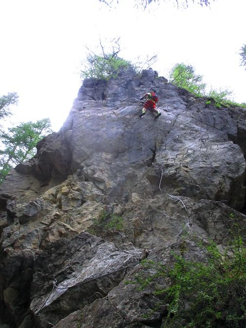 Foto: Andreas Koller / Klettersteigtour / Via ferrata du Torrent de la Combe (1575m) / 19.05.2021 02:25:58
