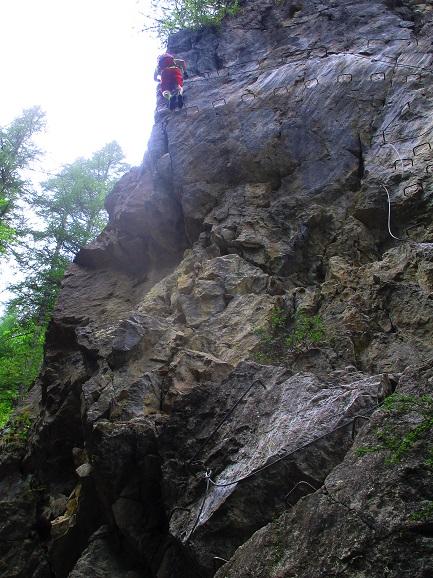 Foto: Andreas Koller / Klettersteigtour / Via ferrata du Torrent de la Combe (1575m) / 19.05.2021 02:25:37
