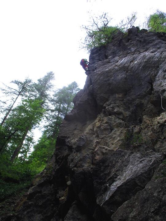 Foto: Andreas Koller / Klettersteigtour / Via ferrata du Torrent de la Combe (1575m) / 19.05.2021 02:25:30