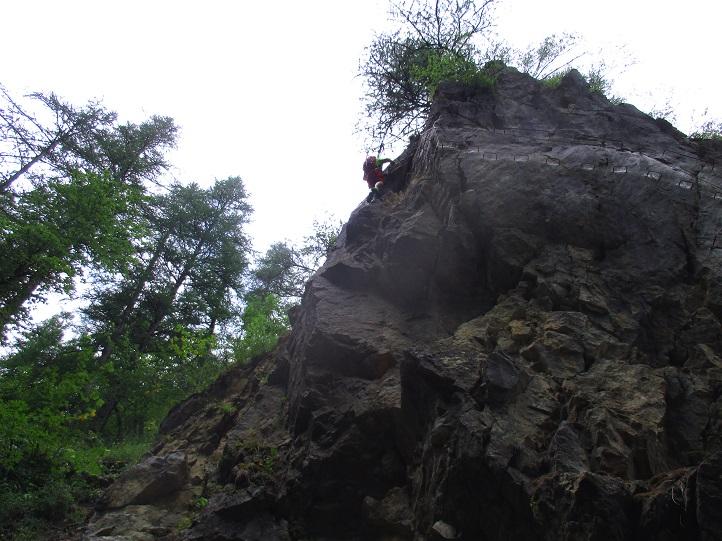 Foto: Andreas Koller / Klettersteigtour / Via ferrata du Torrent de la Combe (1575m) / 19.05.2021 02:25:12