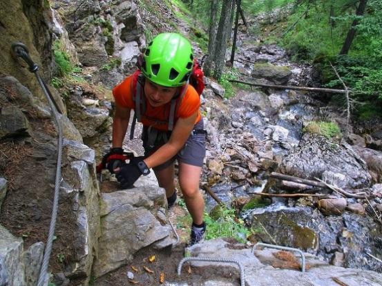 Foto: Andreas Koller / Klettersteigtour / Via ferrata du Torrent de la Combe (1575m) / 19.05.2021 02:25:06