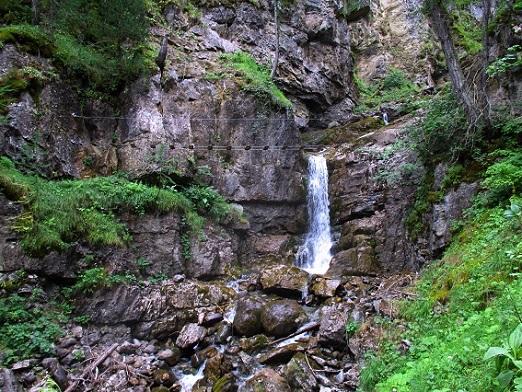 Foto: Andreas Koller / Klettersteigtour / Via ferrata du Torrent de la Combe (1575m) / 19.05.2021 02:24:58
