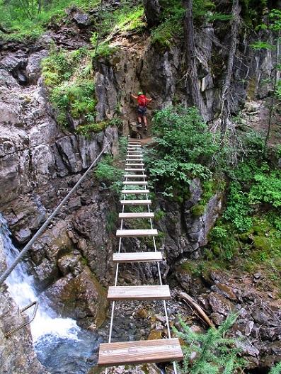 Foto: Andreas Koller / Klettersteigtour / Via ferrata du Torrent de la Combe (1575m) / 19.05.2021 02:24:52