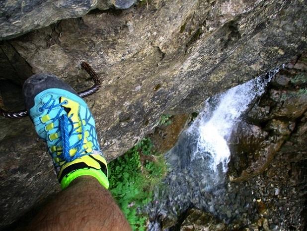 Foto: Andreas Koller / Klettersteigtour / Via ferrata du Torrent de la Combe (1575m) / 19.05.2021 02:24:45