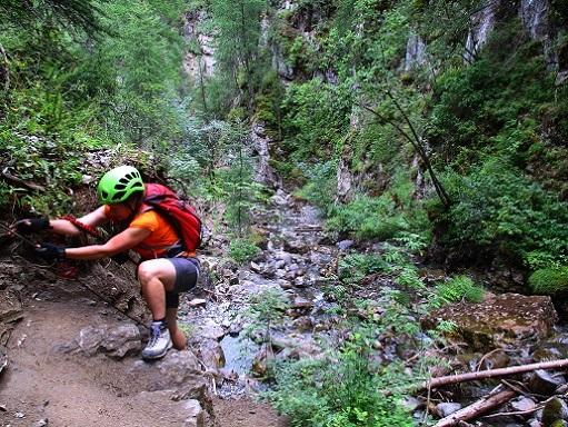 Foto: Andreas Koller / Klettersteigtour / Via ferrata du Torrent de la Combe (1575m) / 19.05.2021 02:24:37