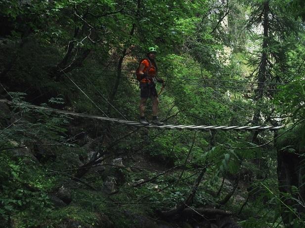 Foto: Andreas Koller / Klettersteigtour / Via ferrata du Torrent de la Combe (1575m) / 19.05.2021 02:24:22