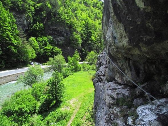 Foto: Andreas Koller / Klettersteigtour / Speedy Klettersteig Bad Eisenkappel (570m) / 07.06.2021 00:27:22