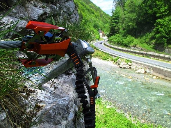 Foto: Andreas Koller / Klettersteigtour / Speedy Klettersteig Bad Eisenkappel (570m) / 07.06.2021 00:27:17