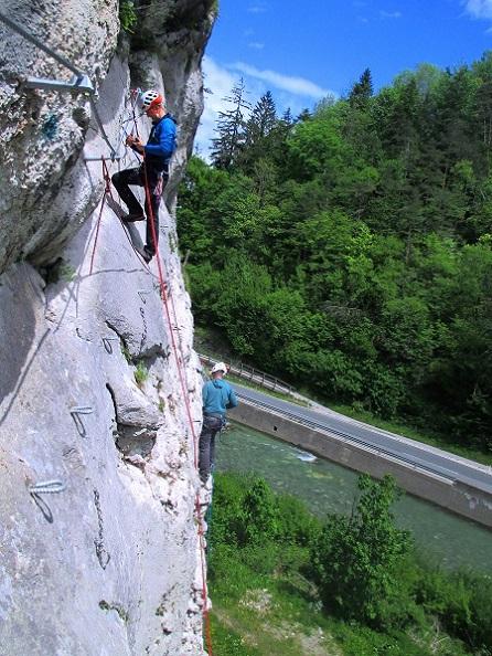 Foto: Andreas Koller / Klettersteigtour / Speedy Klettersteig Bad Eisenkappel (570m) / 07.06.2021 00:26:44