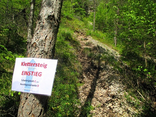 Foto: Andreas Koller / Klettersteigtour / Koschlak Klettersteig Bad Eisenkappel (720m) / 07.06.2021 00:59:06