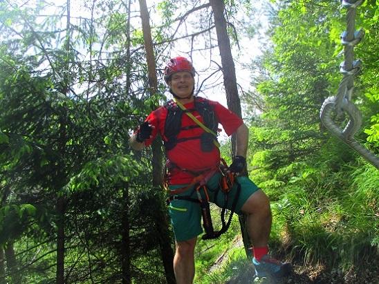 Foto: Andreas Koller / Klettersteigtour / Koschlak Klettersteig Bad Eisenkappel (720m) / 07.06.2021 00:58:50