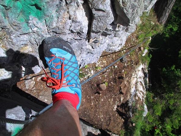 Foto: Andreas Koller / Klettersteigtour / Koschlak Klettersteig Bad Eisenkappel (720m) / 07.06.2021 00:58:42
