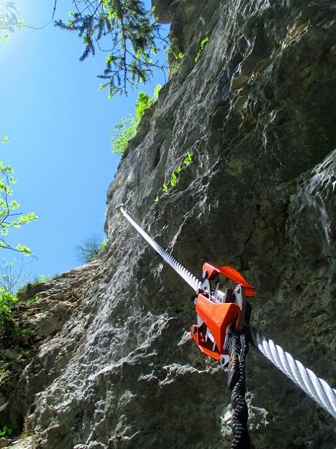 Foto: Andreas Koller / Klettersteigtour / Koschlak Klettersteig Bad Eisenkappel (720m) / 07.06.2021 00:58:38