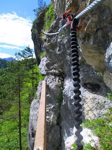 Foto: Andreas Koller / Klettersteigtour / Koschlak Klettersteig Bad Eisenkappel (720m) / 07.06.2021 00:58:32