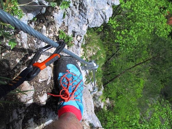 Foto: Andreas Koller / Klettersteigtour / Koschlak Klettersteig Bad Eisenkappel (720m) / 07.06.2021 00:58:28