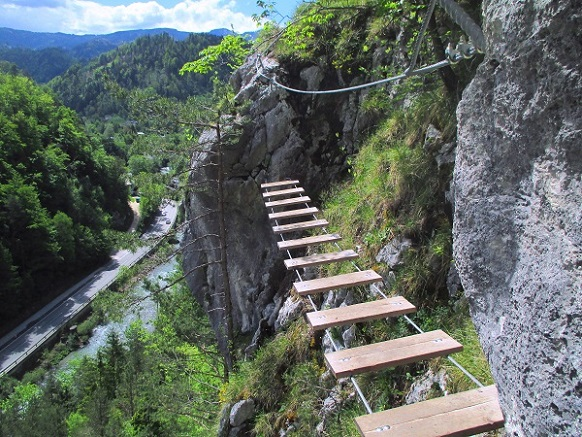 Foto: Andreas Koller / Klettersteigtour / Koschlak Klettersteig Bad Eisenkappel (720m) / 07.06.2021 00:58:22