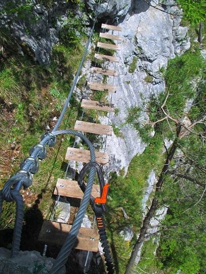 Foto: Andreas Koller / Klettersteigtour / Koschlak Klettersteig Bad Eisenkappel (720m) / 07.06.2021 00:58:12