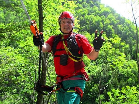 Foto: Andreas Koller / Klettersteigtour / Koschlak Klettersteig Bad Eisenkappel (720m) / 07.06.2021 00:58:07