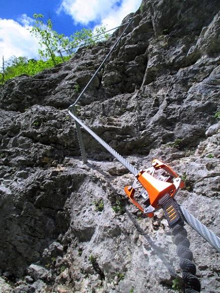 Foto: Andreas Koller / Klettersteigtour / Koschlak Klettersteig Bad Eisenkappel (720m) / 07.06.2021 00:58:02