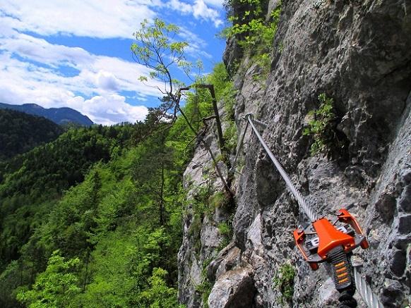 Foto: Andreas Koller / Klettersteigtour / Koschlak Klettersteig Bad Eisenkappel (720m) / 07.06.2021 00:57:37