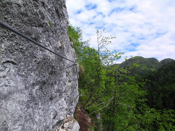 Foto: Andreas Koller / Klettersteigtour / Koschlak Klettersteig Bad Eisenkappel (720m) / 07.06.2021 00:57:30