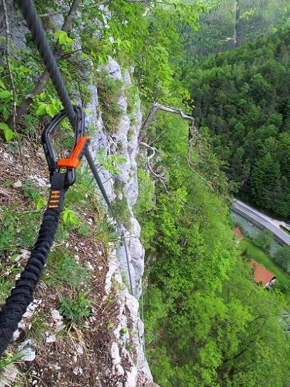 Foto: Andreas Koller / Klettersteigtour / Koschlak Klettersteig Bad Eisenkappel (720m) / 07.06.2021 00:57:24