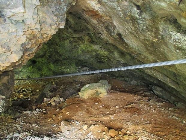 Foto: Andreas Koller / Klettersteigtour / Koschlak Klettersteig Bad Eisenkappel (720m) / Leichter Ausstieg A durch die Höhle / 07.06.2021 00:56:59