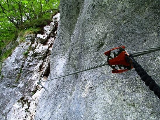 Foto: Andreas Koller / Klettersteigtour / Koschlak Klettersteig Bad Eisenkappel (720m) / 07.06.2021 00:56:07