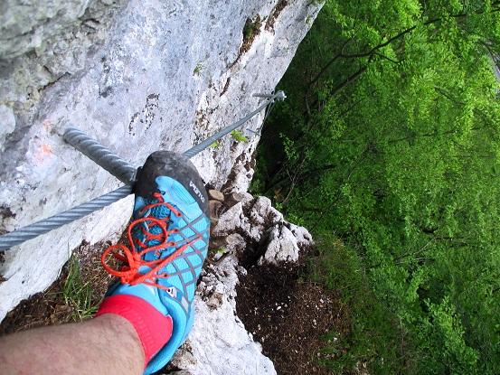 Foto: Andreas Koller / Klettersteigtour / Koschlak Klettersteig Bad Eisenkappel (720m) / 07.06.2021 00:55:35