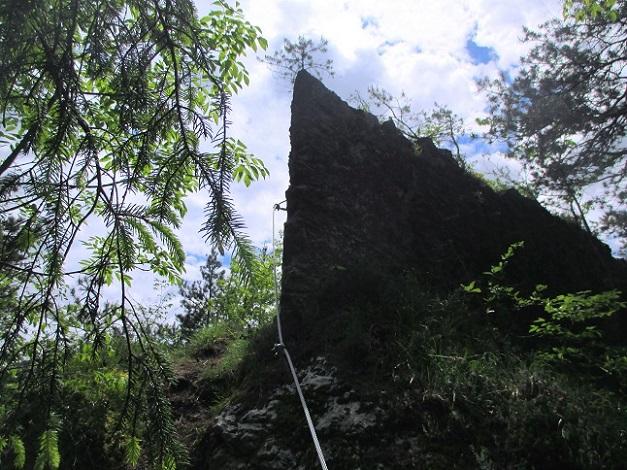 Foto: Andreas Koller / Klettersteigtour / Koschlak Klettersteig Bad Eisenkappel (720m) / Türkenschanze / 07.06.2021 00:55:05