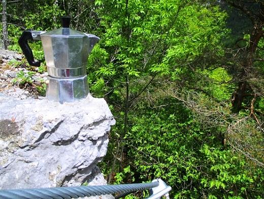 Foto: Andreas Koller / Klettersteigtour / Koschlak Klettersteig Bad Eisenkappel (720m) / Wird man etwa erwartet? Mit Kaffee und Kuchen? / 07.06.2021 00:54:21