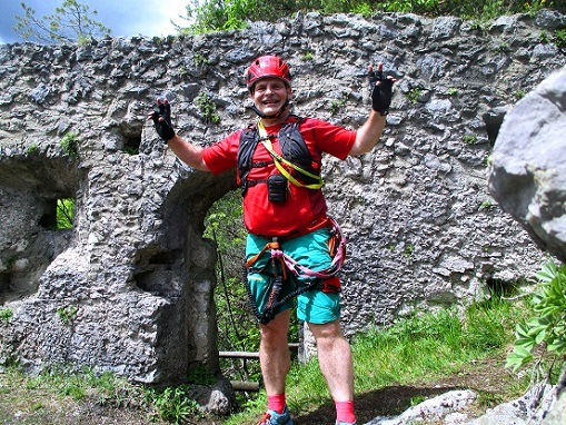 Foto: Andreas Koller / Klettersteigtour / Koschlak Klettersteig Bad Eisenkappel (720m) / 07.06.2021 00:53:41