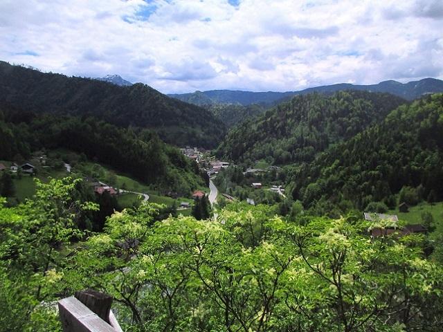 Foto: Andreas Koller / Klettersteigtour / Koschlak Klettersteig Bad Eisenkappel (720m) / Blick auf Bad Eisenkappel / 07.06.2021 00:53:21