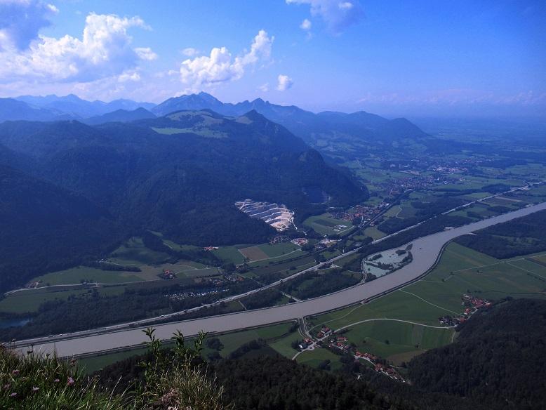 Foto: Andreas Koller / Wandertour / Bio-Tour Kranzhorn (1368m) / Inn-Blick / 08.06.2021 23:52:08
