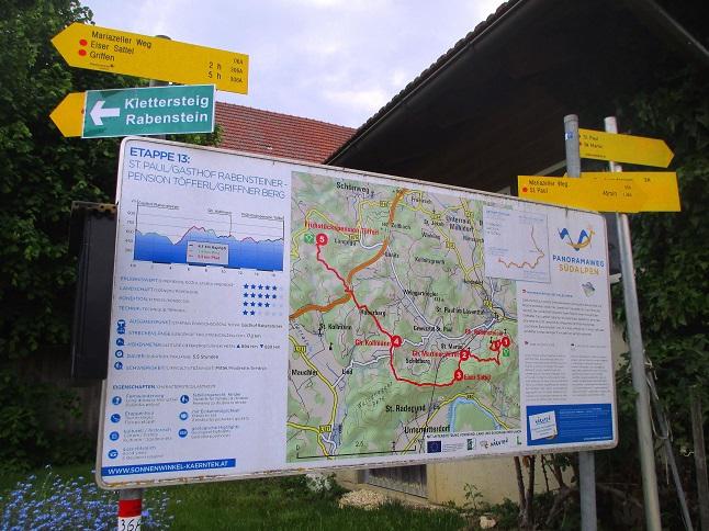 Foto: Andreas Koller / Klettersteigtour / Klettersteig Rabenstein (697m) / 11.06.2021 01:35:39