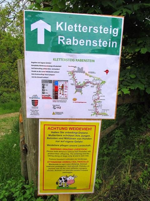 Foto: Andreas Koller / Klettersteigtour / Klettersteig Rabenstein (697m) / 11.06.2021 01:35:29
