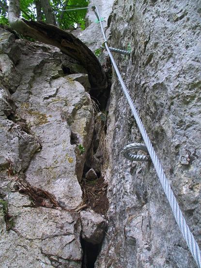 Foto: Andreas Koller / Klettersteigtour / Klettersteig Rabenstein (697m) / 11.06.2021 01:35:05