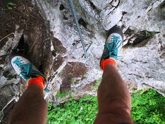 Foto: Andreas Koller / Klettersteigtour / Klettersteig Rabenstein (697m) / 11.06.2021 01:35:00