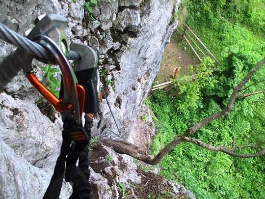 Foto: Andreas Koller / Klettersteigtour / Klettersteig Rabenstein (697m) / 11.06.2021 01:34:55